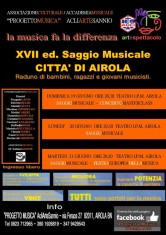 locandina concerto Masterclass e XVII Saggio_o