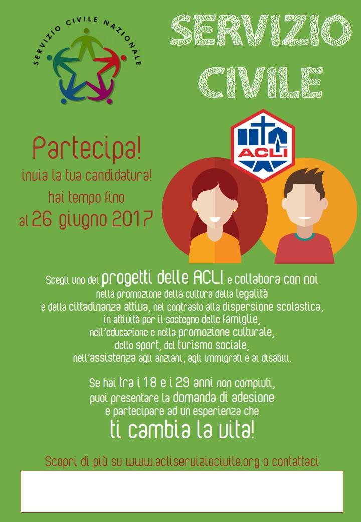 promo servizio civile 2017 - verticale_personalizzabile